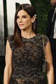 WEST HOLLYWOOD, CA - FEB 24: Sandra Bullock at the Vanity Fair Oscar Party at Sunset Tower on Februa