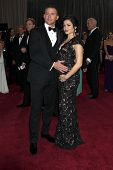 LOS ANGELES - FEB 24:  Channing Tatum, Jenna Dewan-Tatum arrives at the 85th Academy Awards presenti