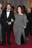LOS ANGELES - FEB 24:  Melissa McCarthy arrives at the 85th Academy Awards presenting the Oscars at
