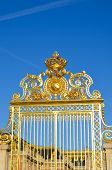 Front gate of Versailles Palace, France