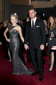 LOS ANGELES - FEB 24:  Naomi Watts, Liev Schreiber arrive at the 85th Academy Awards presenting the