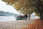 River City In Autumn poster