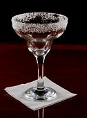 Salt Rim Margarita Glass