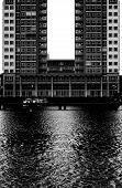 picture of u-boat  - Modern architecture on the river Spree in Berlin - JPG