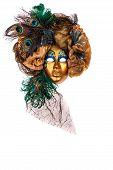 Hand Made Venetian Carnival Mask
