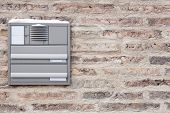 Brick Wall With Mailbox