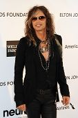 LOS ANGELES - FEB 24:  Steven Tyler arrives at the Elton John Aids Foundation 21st Academy Awards Viewing Party at the West Hollywood Park on February 24, 2013 in West Hollywood, CA