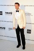 LOS ANGELES - FEB 24:  Matthew Morrison arrives at the Elton John Aids Foundation 21st Academy Award