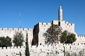 The Tower of David is an ancient citadel