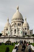 Sacre Coeur Church In Paris, France