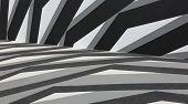 Black & white background