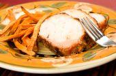 Turkey With Sweet Potato Fries