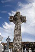 Old Gaelic Graveyard In Kincasslagh