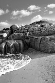 Rocky Beach In County Donegal