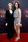 NEW YORK- OCT 20: Producers Daryl Roth (L) and Eva Price attend the Broadway opening night of 'A Tim