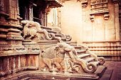 Hindu Brihadishvara Temple. South India