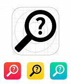 Help and FAQ search icon.