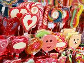 festive sugar candies for children, Christmas gifts
