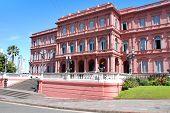 Casa Rosada (pink house) Buenos Aires
