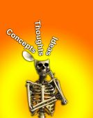 Thoughtfull Skeleton