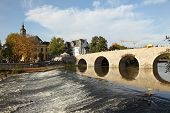 Old bridge in Wetzlar, Germany