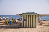 Benidorm, Spain - September 15, 2013: Beach Accessibility