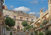 The Views Of Taormina, Sicily