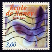 Postage Stamp France 1999 Detail Of Noctuelles Dish, By Emile Ga