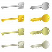 key icons