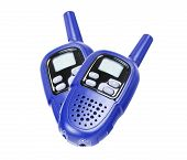 Two walkie-talkie