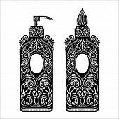 Vintage Ornate Soap Dispenser
