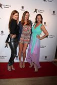 LOS ANGELES - MAR 31:  Anna Trebunskaya, Edyta Sliwinska, Elena Grinenko at the LA Ballroom Studio G