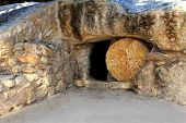 Replica Of The Tomb Of Jesus In Israel