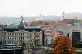 Vilnius Panorama In Autumn