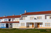 Unrecognizable Part Of Residential House At Algarve, Portugal