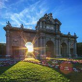 The Famous Puerta De Alcala
