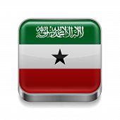 Metal  icon of Somaliland