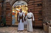 Posing In Sanaa, Yemen