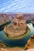 Romantic Horseshoe Bend In Page, Arizona