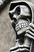 stock photo of grim-reaper  - Close - JPG