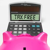 Tax Free Calculator Shows Untaxed Duty Free Merchandise