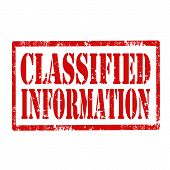 Classified Information-stamp