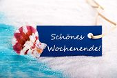 Label With Schoenes Wochenende