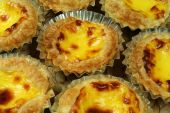 image of pasteis  - Traditional Lisbon egg tarts  - JPG