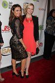 LOS ANGELES - APR 2:  Lily Melgar, Martha Madison at the 2014 Indie Series Awards at El Portal Theat