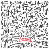 arrows - doodles set