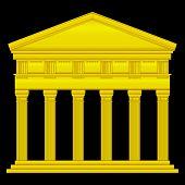 Gold Doric Temple