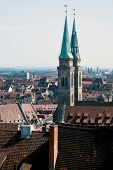 Historic Centre Of Nuremberg In Germany