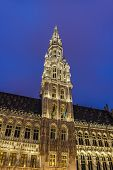 Town Hall In Brussels, Belgium.