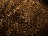 Detailed closeup of brown leather texture